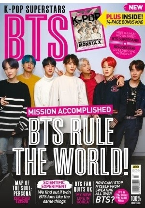 K-Pop Superstars: BTS (Volume 3)