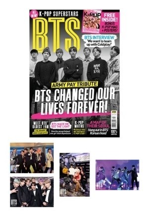 K-Pop Superstars: BTS (Volume 4) Fan Pack