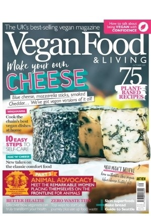 Vegan Food & Living #39: (October 2019)