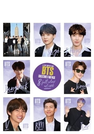 K-Pop Superstars: BTS Art Cards