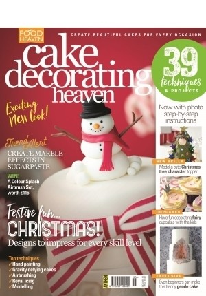 Cake Decorating Heaven #55 (Nov/Dec 2016)