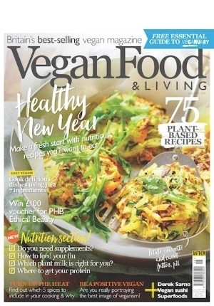 Vegan Food & Living #18 (January 2018)