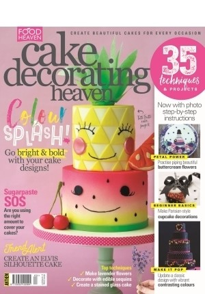 Cake Decorating Heaven #63 (Jul/Aug 2017)