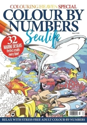 Special 4: Colour By Numbers Sealife