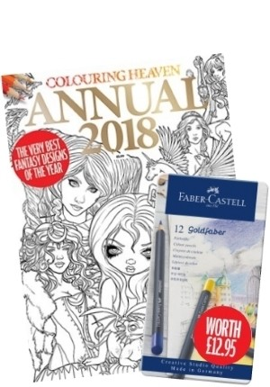 Colouring Heaven Annual 2018 Gift Set