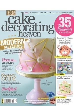 Cake Decorating Heaven #75 (Jul/Aug 2018)