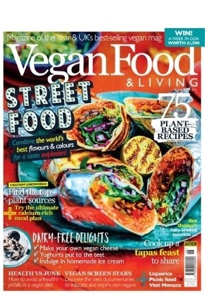 Vegan Food & Living #26: (September 2018)