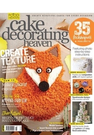 Cake Decorating Heaven #77 (Sep/Oct 2018)