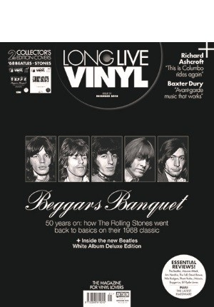 Long Live Vinyl #21 (December 2018 - The Rolling Stones)