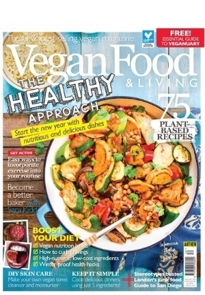 Vegan Food & Living #30: (January 2019)